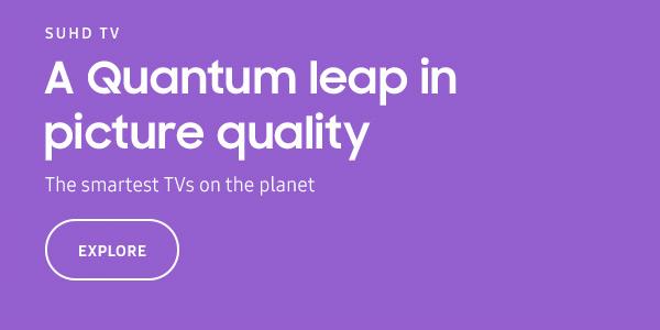 Samsung Ultra HD Quantum dot TV