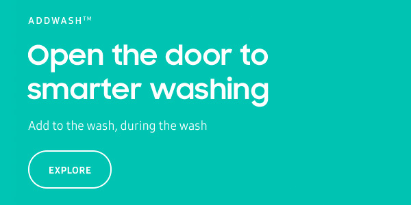 Samsung Smart Washing Machines