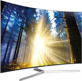 Samsung SUHD Quantum dot Display TVs