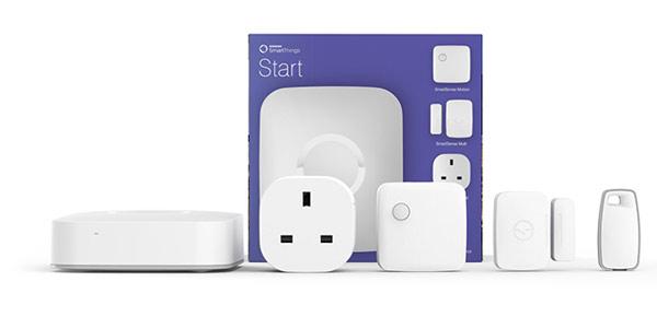 Samsung SmartThings starter pack