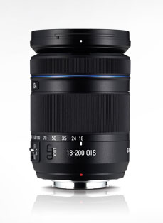Samsung 18-200mm F3.5-6.3 / ED OI S Long Zoom Lens (for Movie)