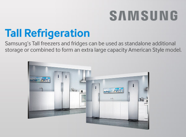 Samsung tall refrigeration
