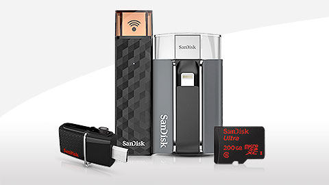Sandisk mobile memory