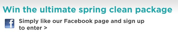 Win the ultimate Spring Clean package