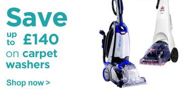 Save on carpet washers