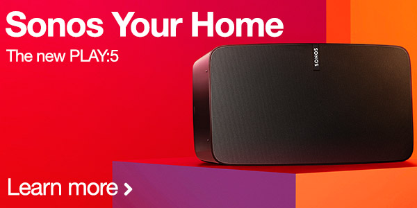 Sonos Your Home - View the new Sonos Play 5