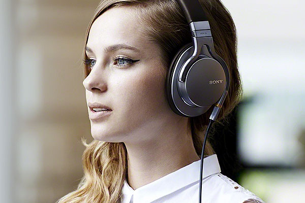Sony High Resolution Audio Headphones