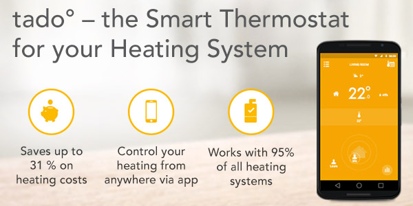 Tado - The Smart Thermostat for your heating system
