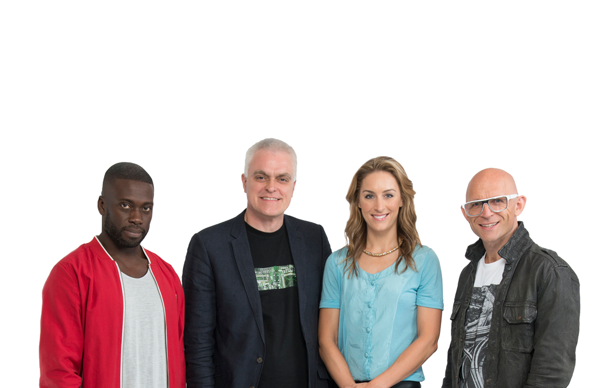 The Gadget Show presenters