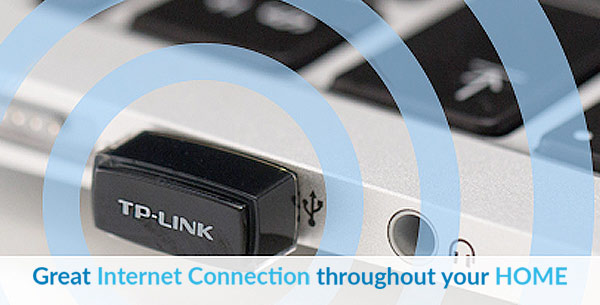 TP Link - Great internet connection through your home