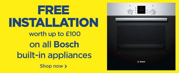 Bosch built-in installation