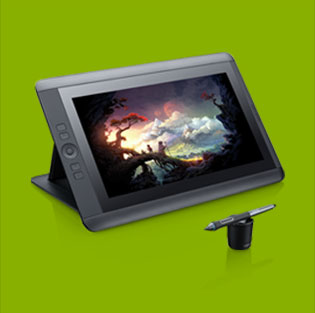 wacom cintiq 13hd 13inch display for digital artistic needs