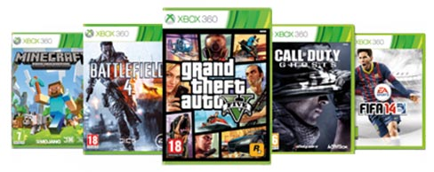 Xbox 360 game pack