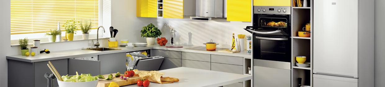 Zanussi kitchen appliances - Fridge, Hood, Oven, Dishwasher